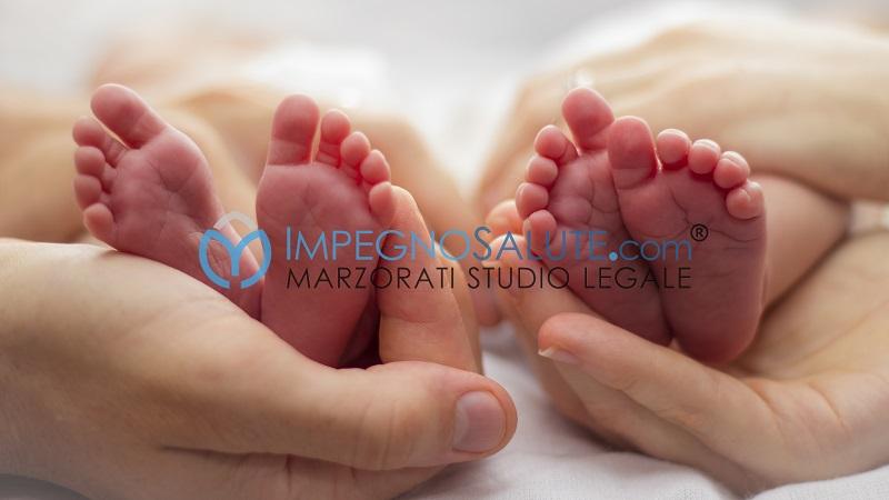 La nascita gemellare avvocato malasanità