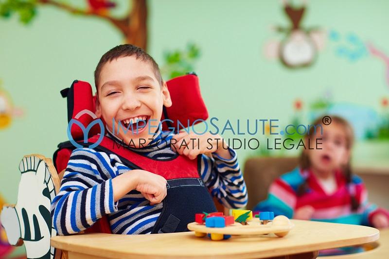 Effetti paralisi cerebrale infantile