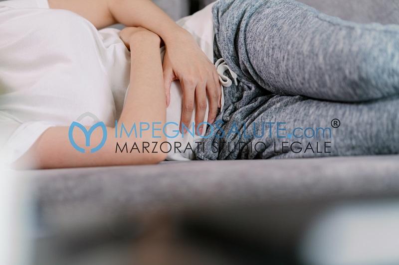 Dolori rottura d'utero
