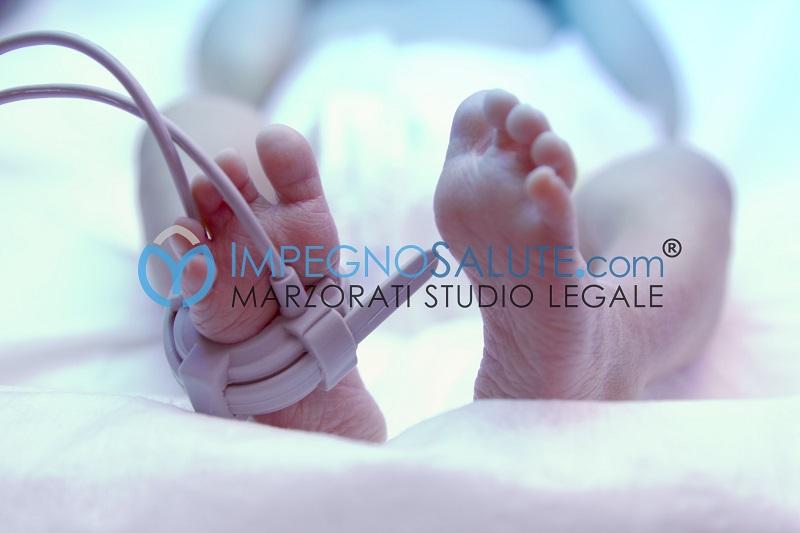 Problemi neurologici del neonato sintomi