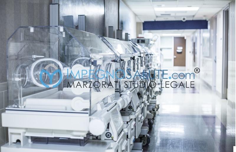 Danni al neonato nelle unità di terapia avvocato errore medico