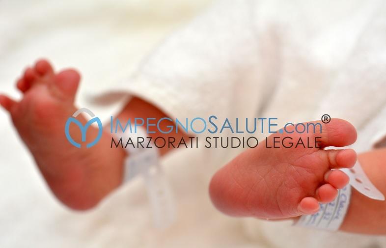Sorveglianza del neonato appena dopo il parto avvocato malasanità