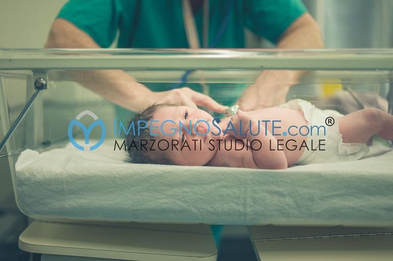diritti del neonato avvocato errore medico malasanità